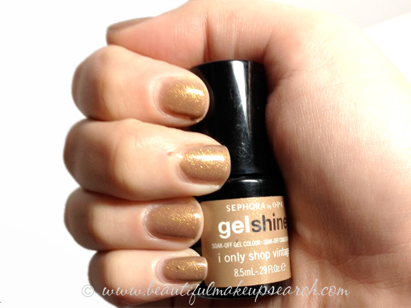 SEPHORA by OPI Gelshine I Only Shop Vintage
