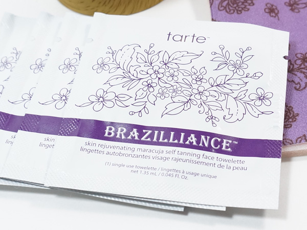 Brazilliance Skin Rejuvenating Maracuja Self-Tanning Facial Towelettes