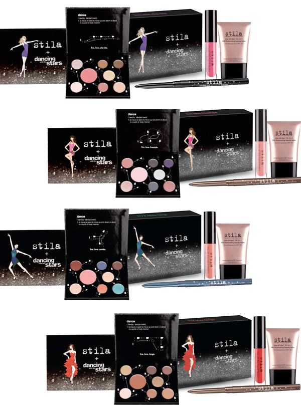 The Dancing with the Stars Collection by Stila Cosmetics: Live. Love. Dance. Sets