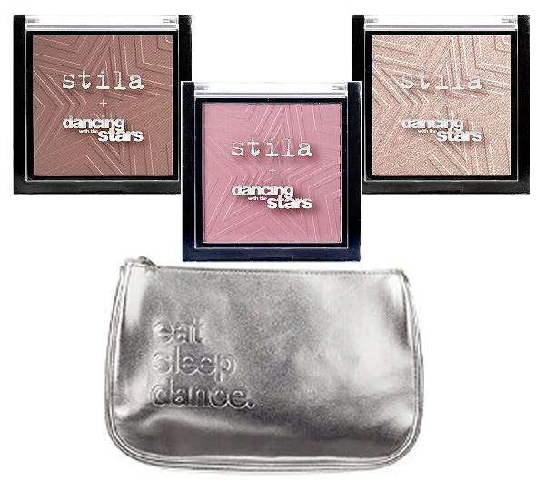 The Dancing with the Stars Collection by Stila Cosmetics: Blush, Illuminating Powder, Bronzing Powder
