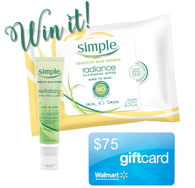 Simple Simply Better Skin Prize Giveaway