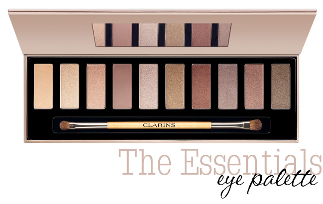 Holiday 2013: Clarins The Essentials Eye Palette