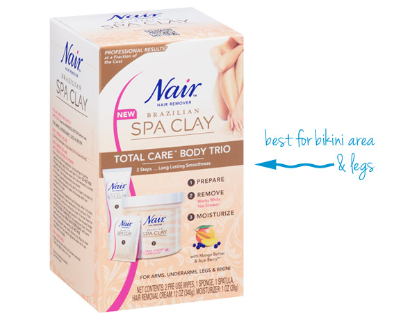 Nair Spa Clay Shower Total Care Body Trio