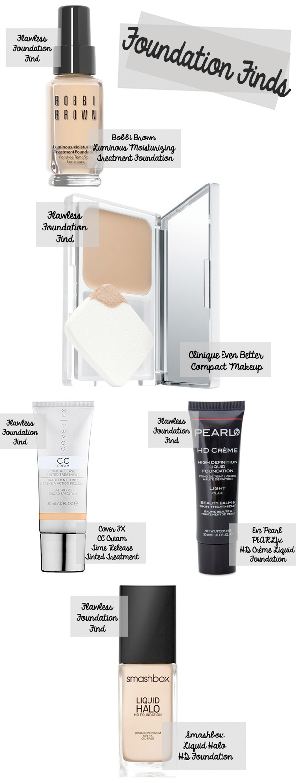 5 Fabulous Foundation Finds