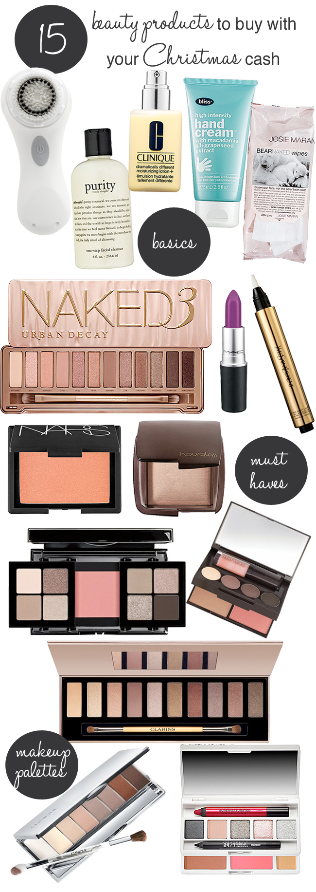 Got Christmas cash? These are the beauty products you should buy!