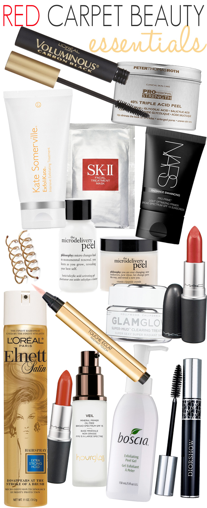 Red Carpet Beauty Essentials