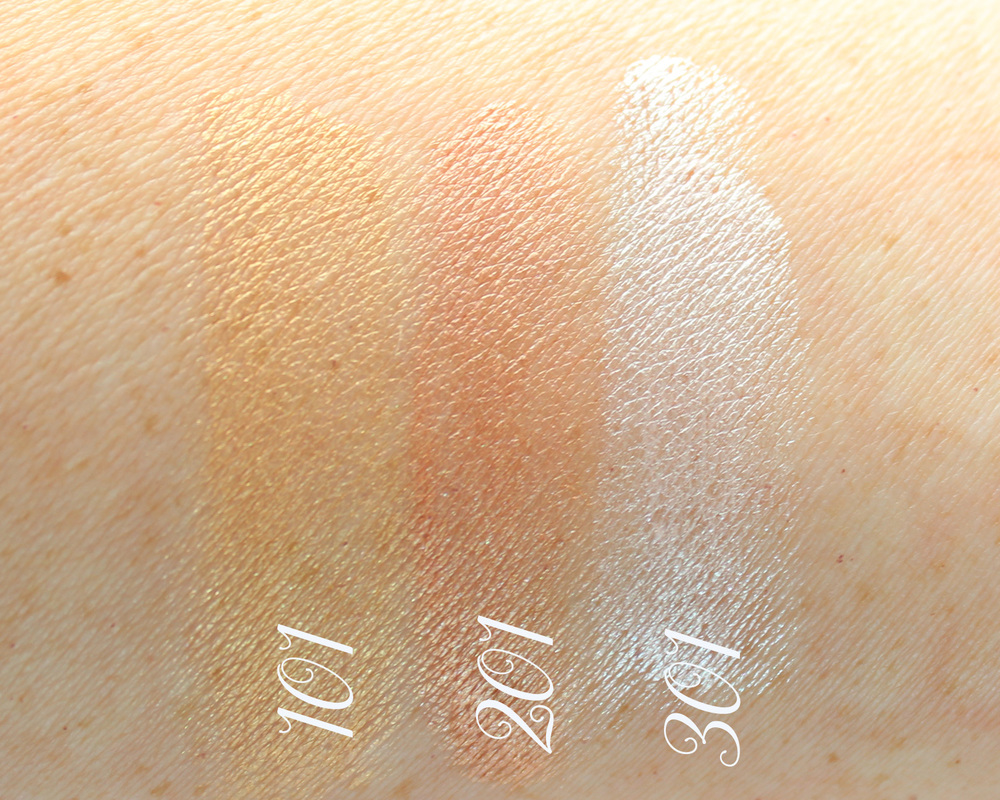 L'Oréal Paris True Match Lumi Illuminator Swatches