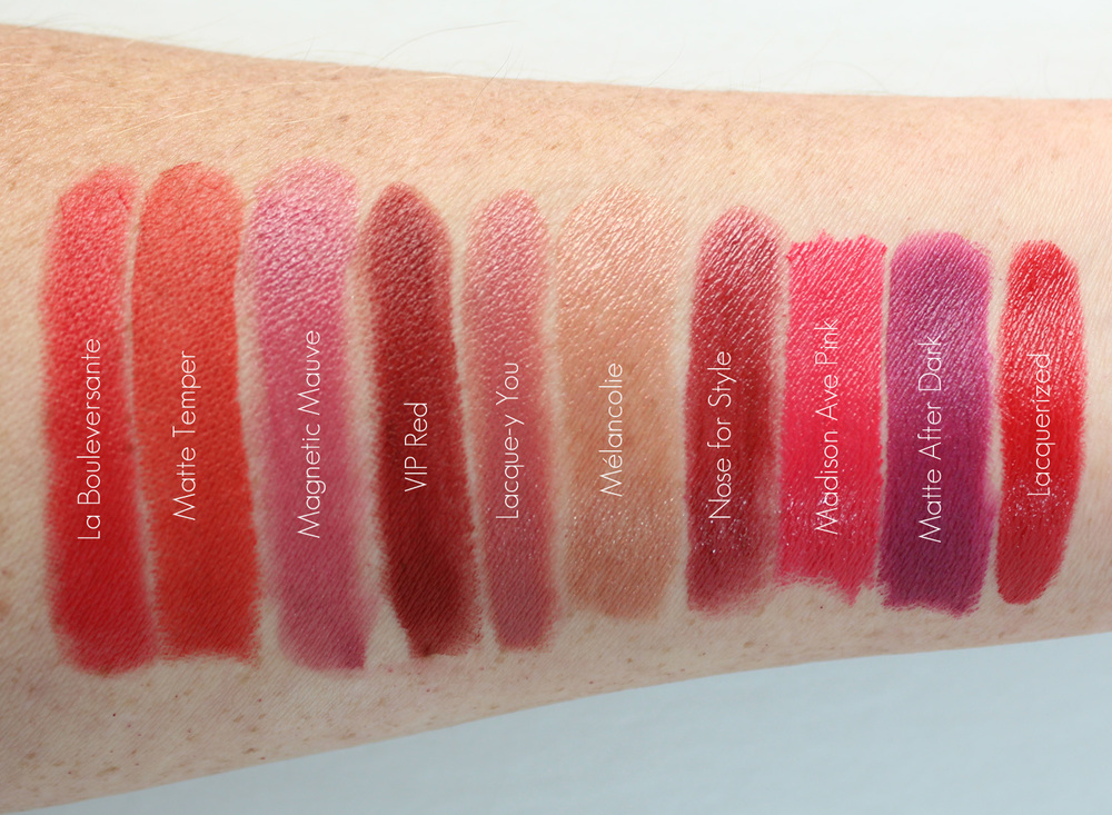 Best Fall Lipstick Swatches