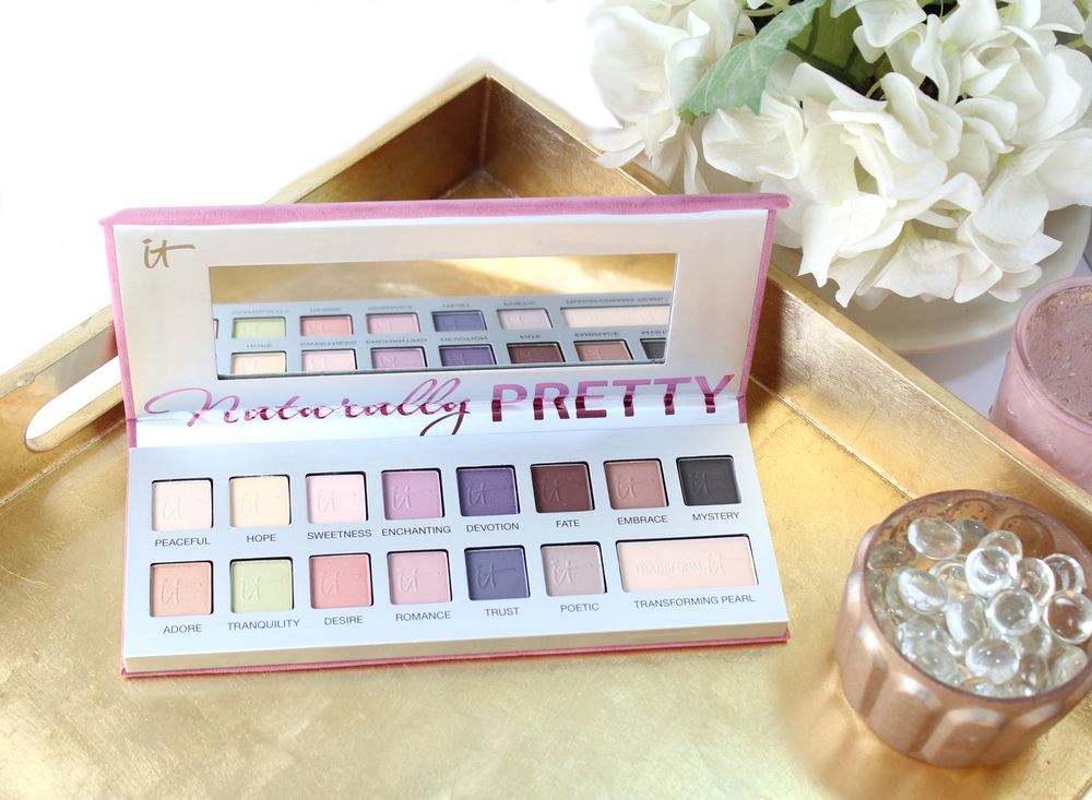 IT Cosmetics Naturally Pretty Vol. 2 Romantics Matte Eyeshadow Palette