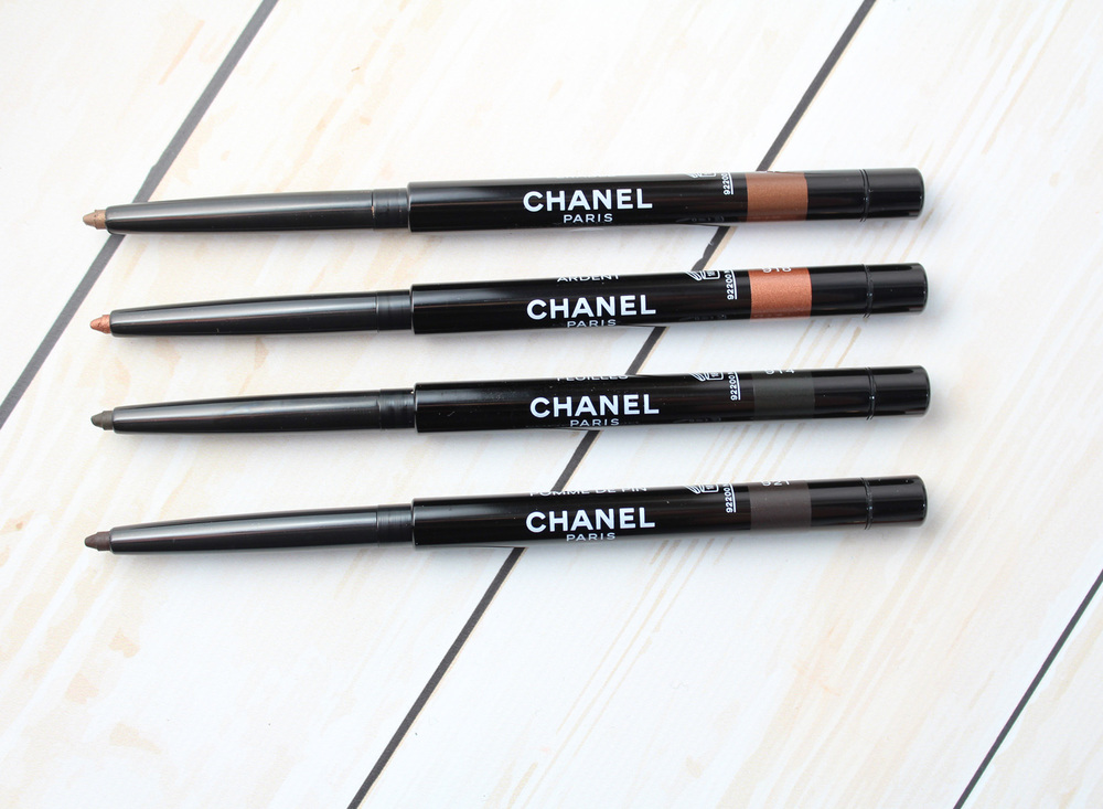 CHANEL Collection Les Automnales: Long-lasting Eyeliners