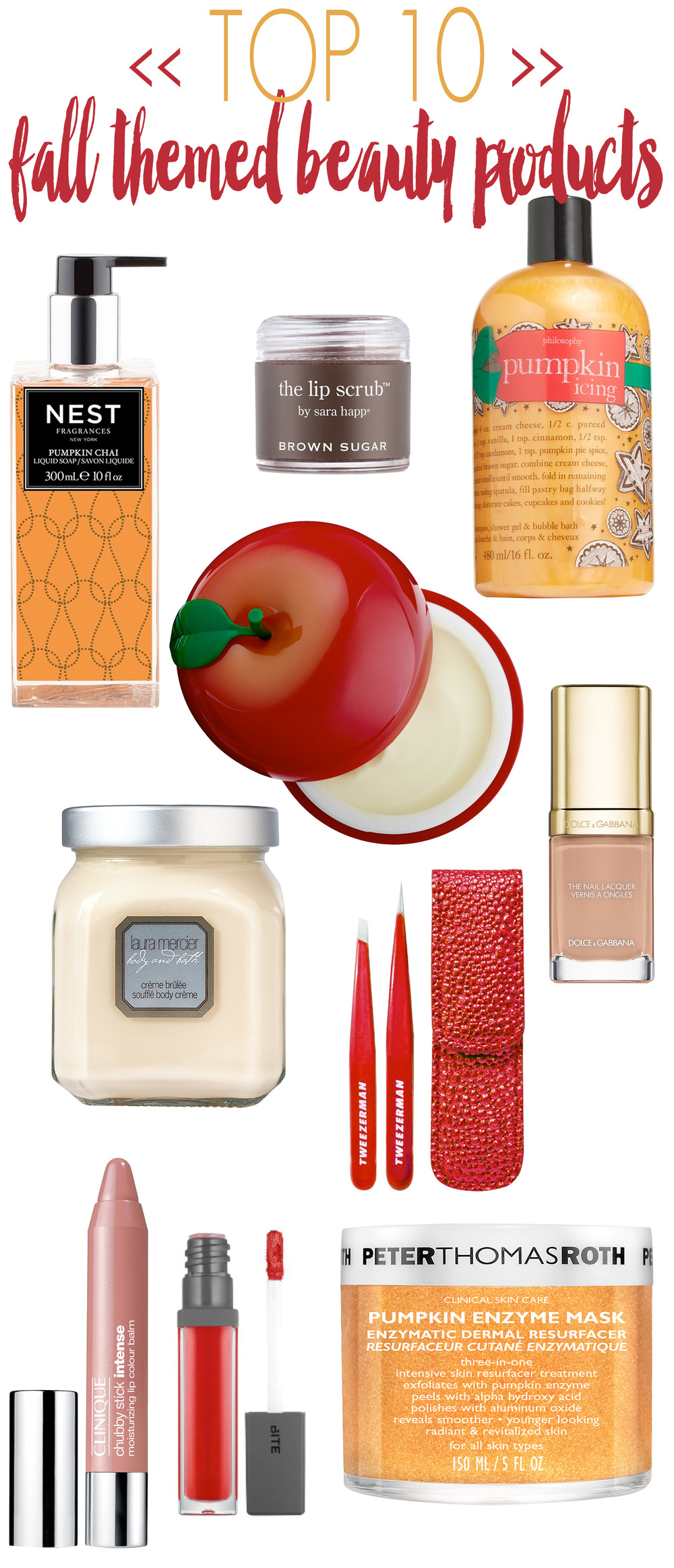 Top Fall Themed Beauty Products
