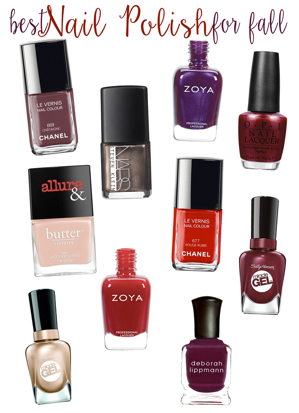 Top 10 Best Fall Nail Colors