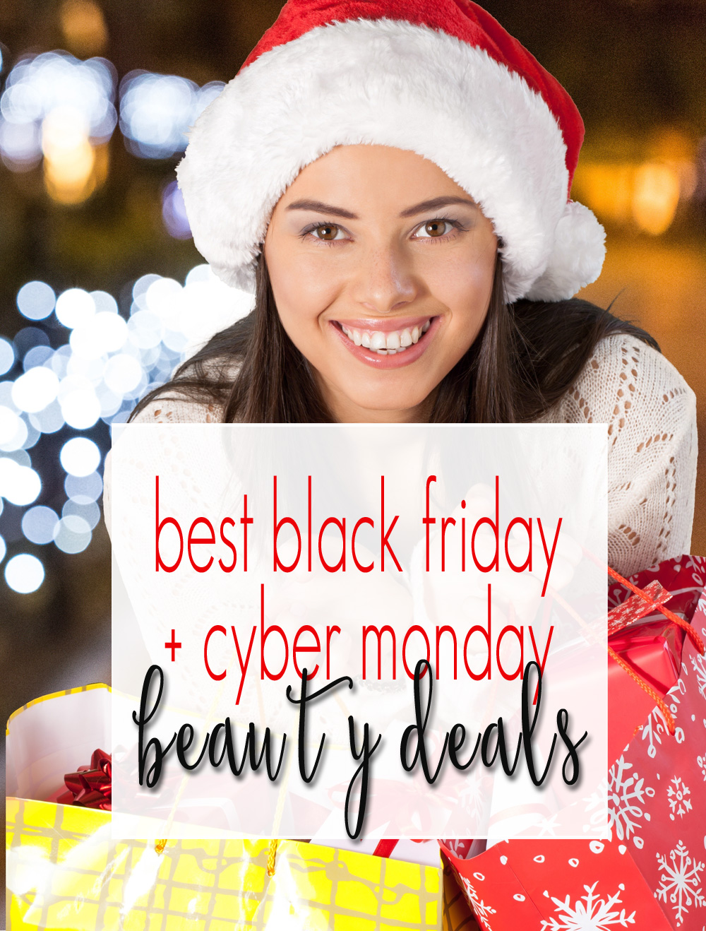 Best Black Friday + Cyber Monday Beauty Deals: I've got all of the % OFF, BOGO, GWP, Freebies and more listed!