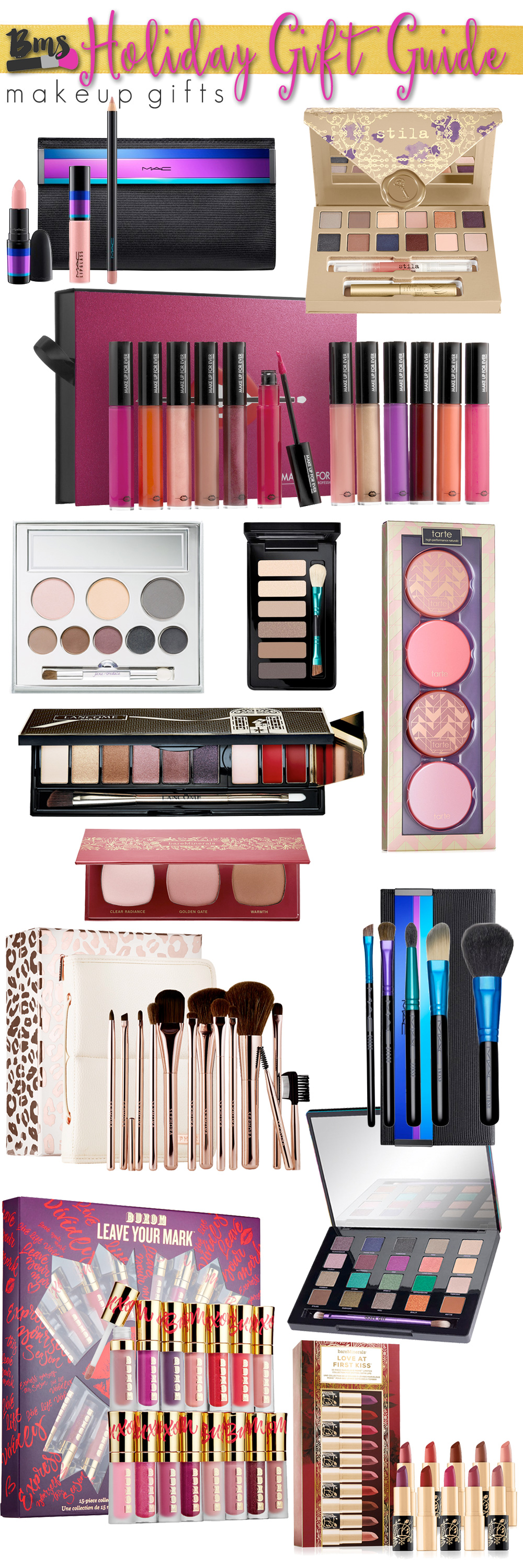 Holiday Gift Guide 2015: Best Makeup Gifts