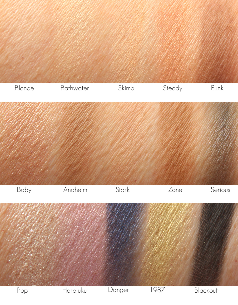 UD| Gwen Stefani Eyeshadow Palette : Review + Swatches.
