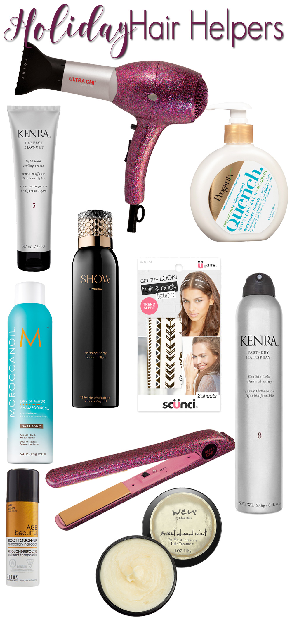 10 EASY Ways to Get Your Hair Holiday Ready!