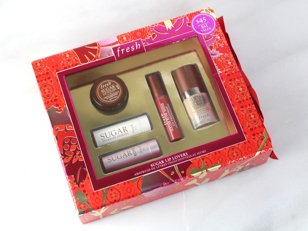 fresh Sugar Lip Lovers Gift Boxed Holiday Set