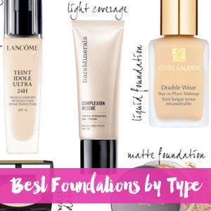 Best Foundations by Type