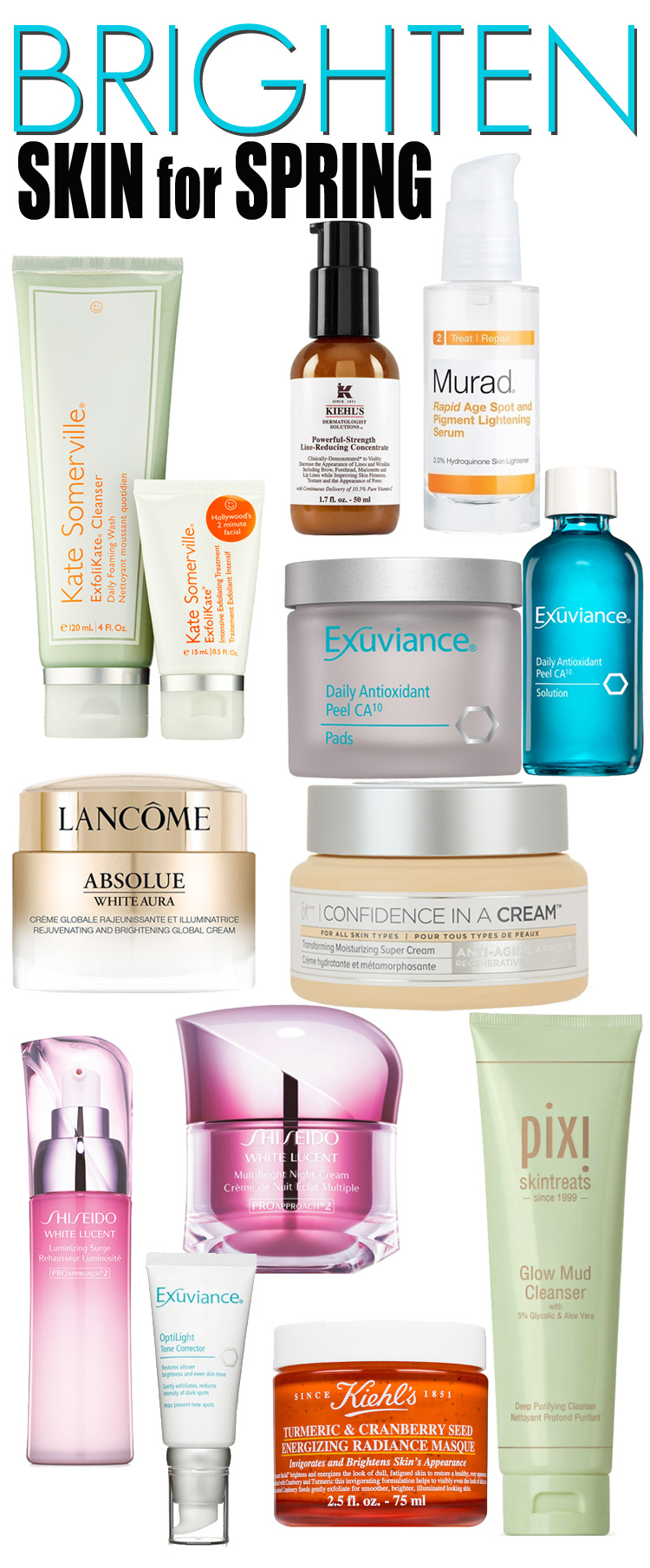 10 Ways to Brighten Skin for Spring