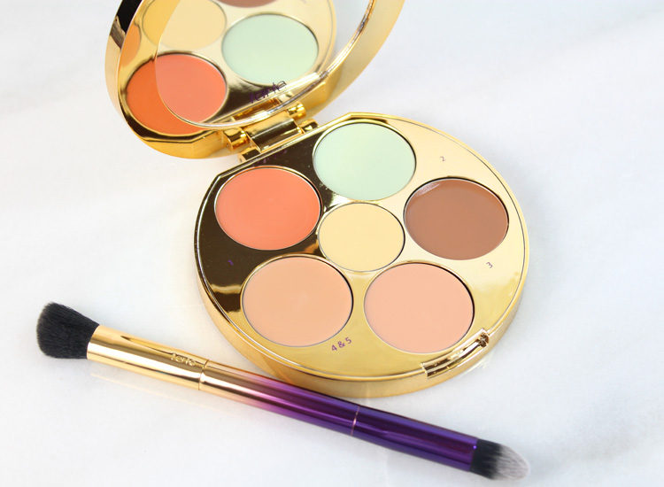 Tarte Rainforest of the Sea Wipeout Color-Correcting Palette and Color-Correcting Brush