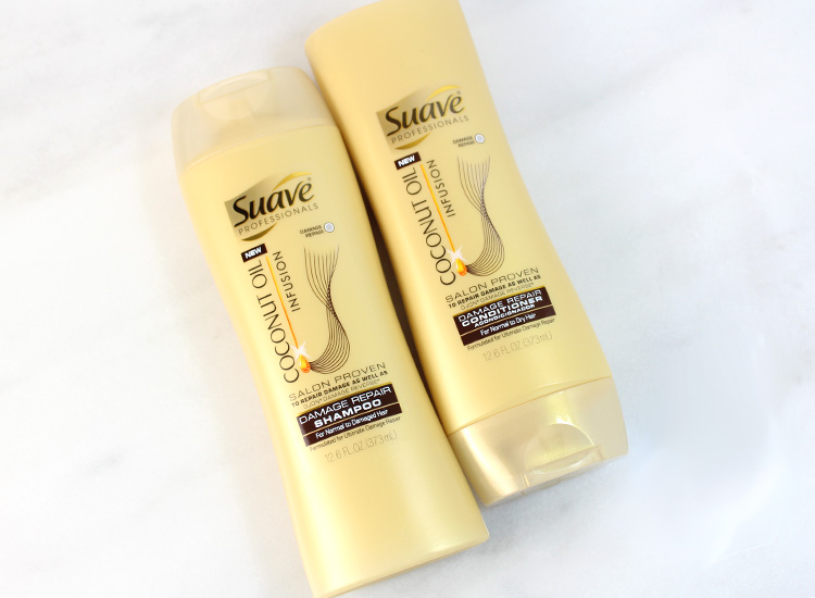 Suave Coconut Oil Infusion Damage Repair Shampoo + Conditioner