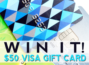 WIN IT: $50 VISA Gift Card