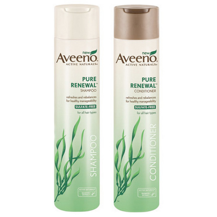 Aveeno Pure Renewal Shampoo + Conditioner