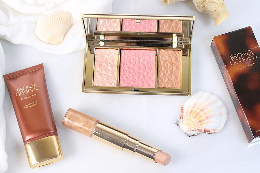 Estée Lauder Bronze Goddess Summer Glow Makeup Collection 2016.