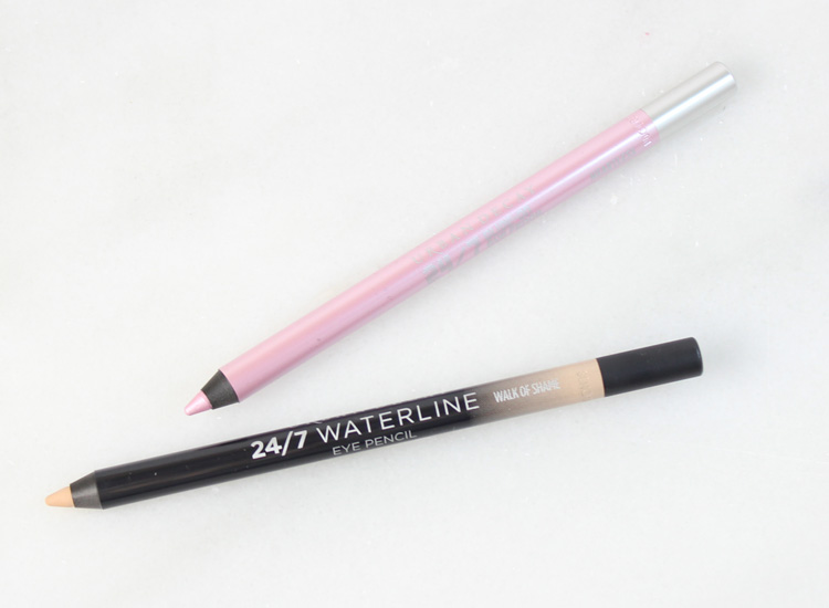 Urban Decay Summer 2016 Collection: 24/7 Waterline Eye Pencil Walk of Shame and 24/7 Glide-On Eye Pencil in Heartless
