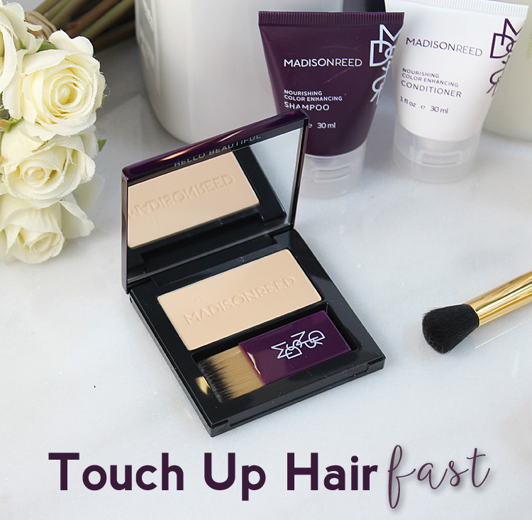 Quick + Easy Instant Coverage from Madison Reed Root Touch Up