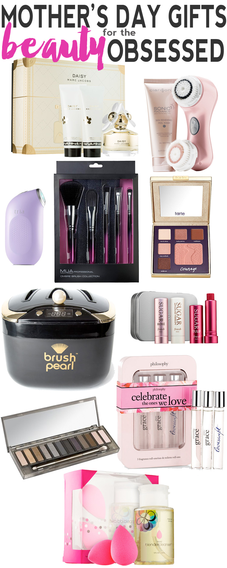 Mother's Day Gift Guide for the Beauty Obsessed Mom