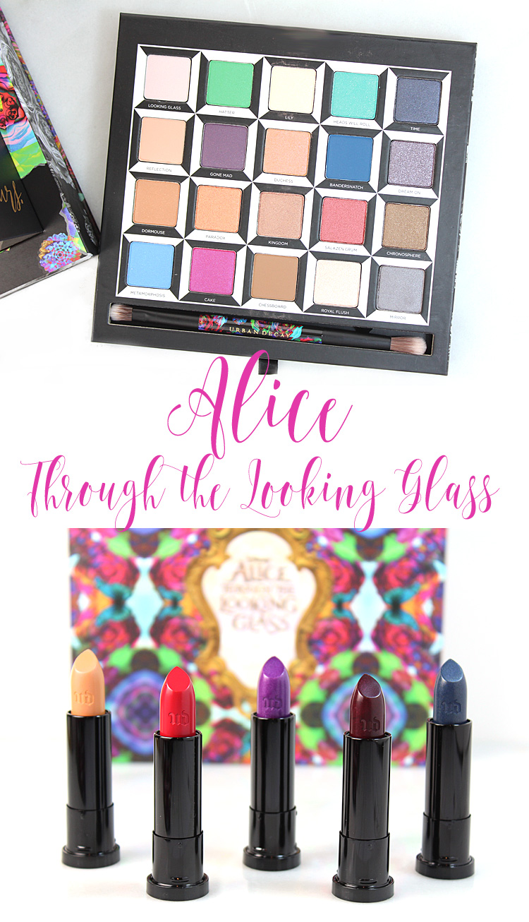 Urban Decay Alice Through the Looking Glass Palette & Lipsticks