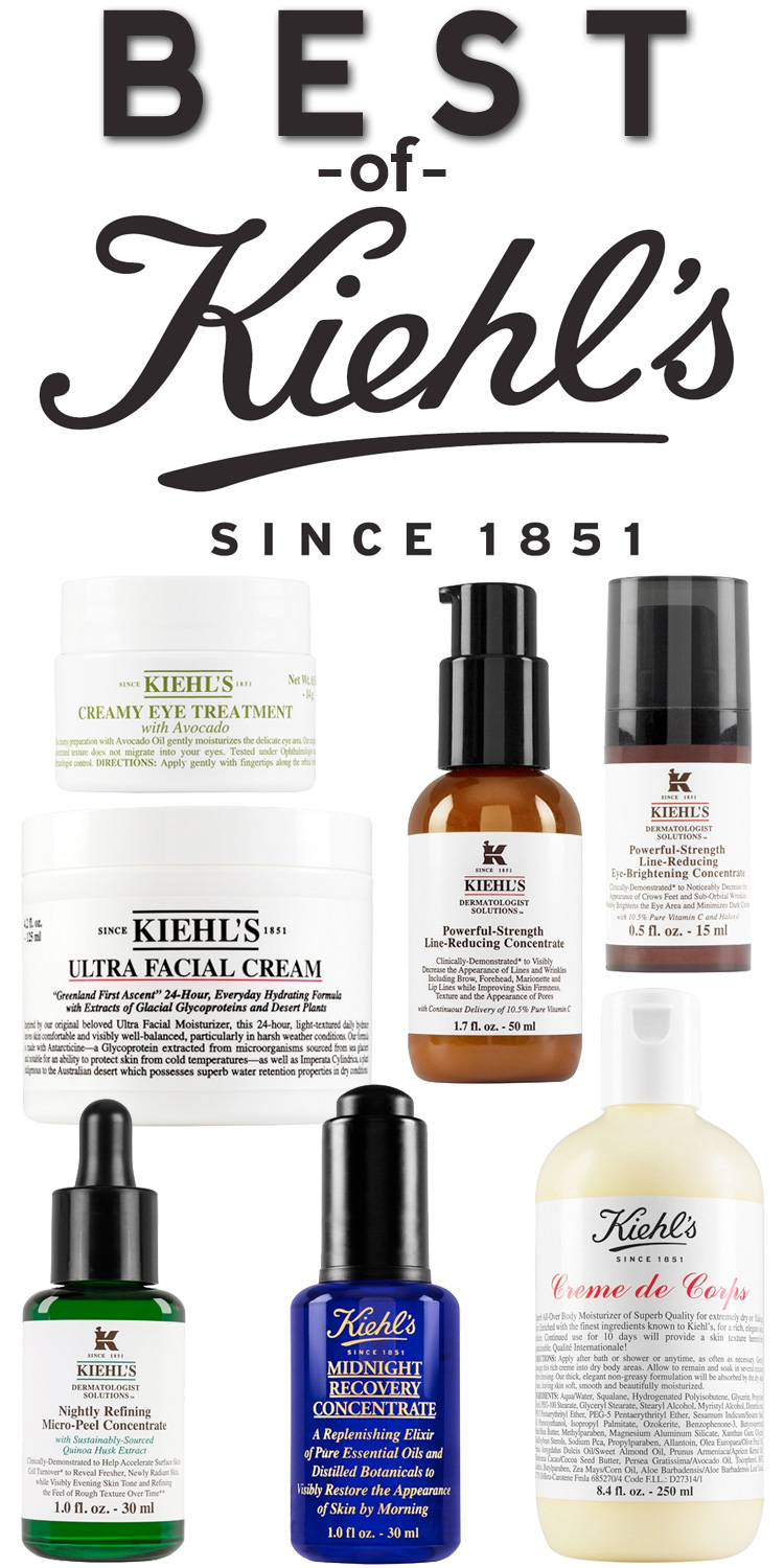 Best of Kiehl's Skin Care Products