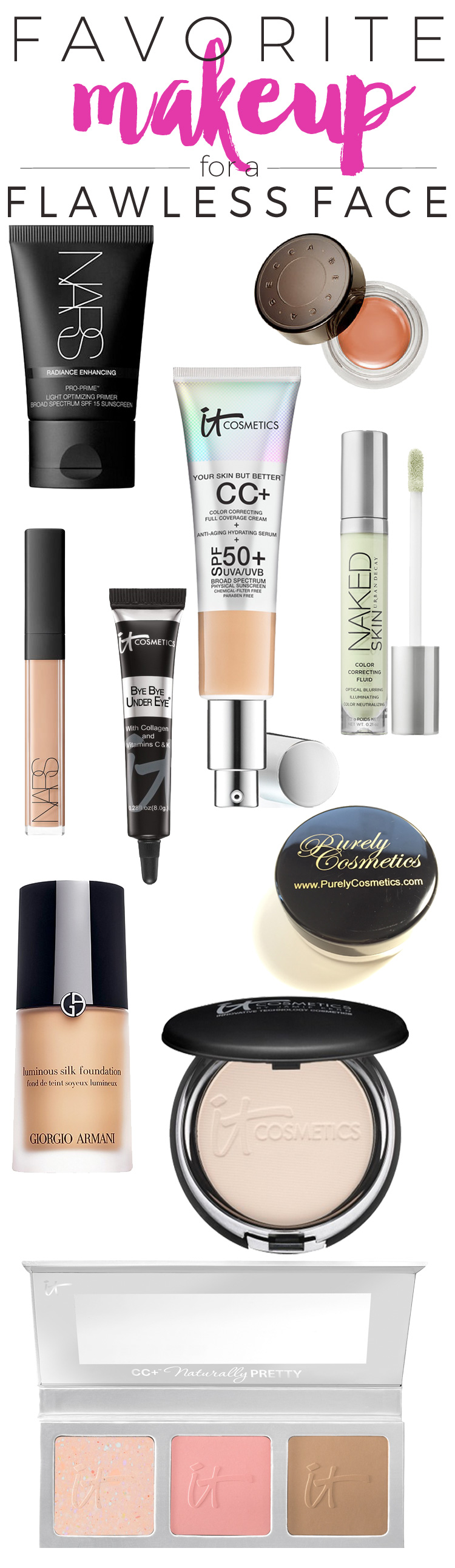 My 10 Favorite Products for a Flawless Face