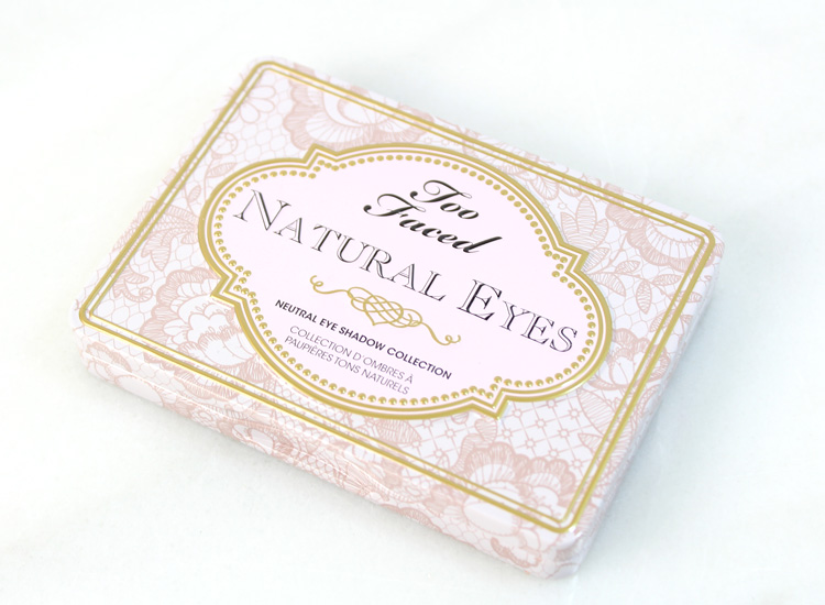 Too Faced Natural Eyes Neutral Eye Shadow Collection