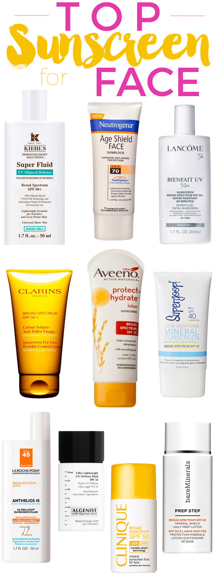 Tinted Sunscreen for Face - SPF 20 With