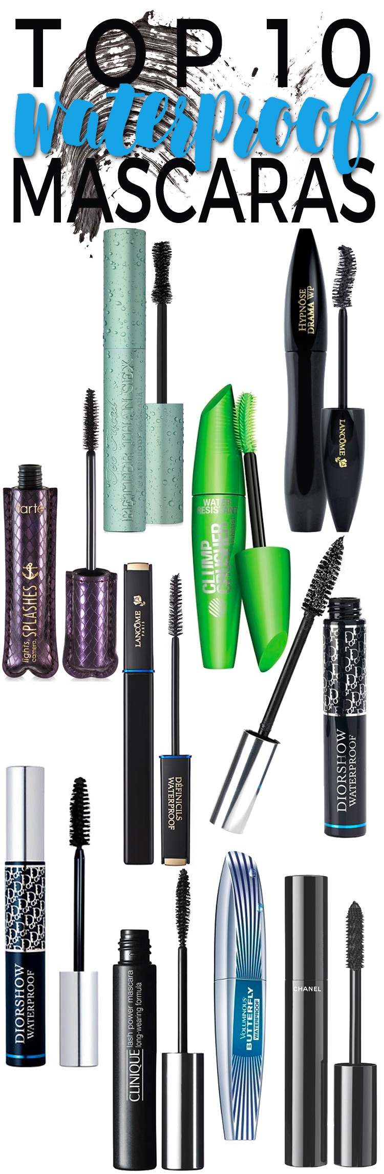 Top 10 Waterproof Mascaras