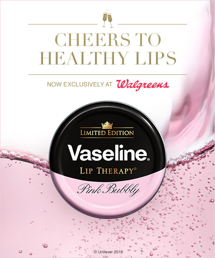 Vaseline Lip Therapy in Pink Bubbly