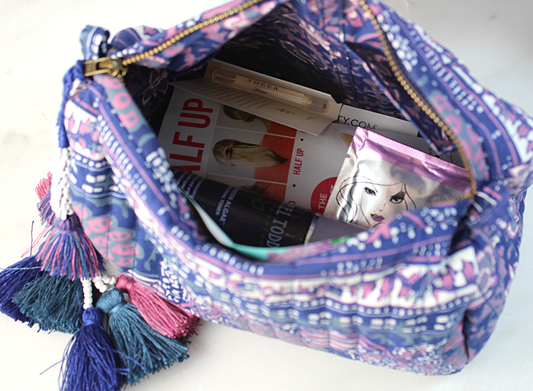 Ulla Johnson Summer Beauty Bag from beauty.com