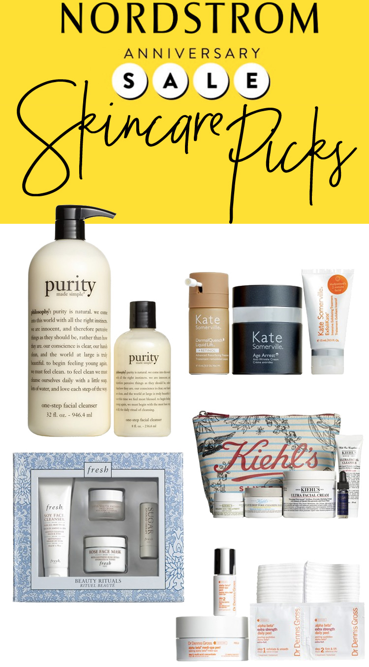 5 Skincare Favorites from the Nordstrom Anniversary Sale 2016