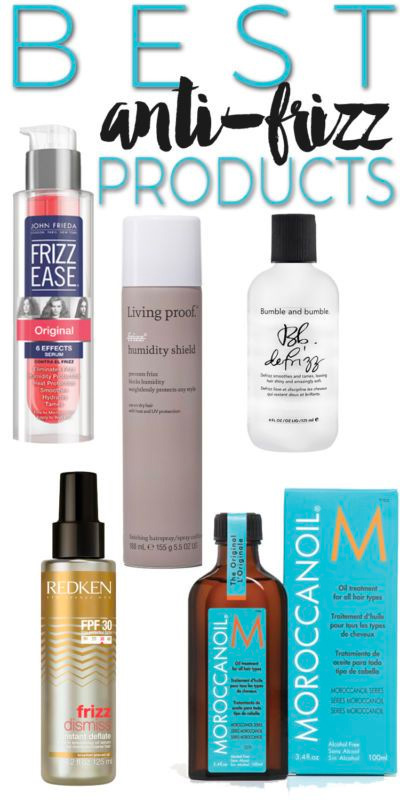 Best Anti-Frizz Products