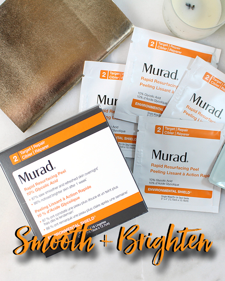 Smooth + Brighten Skin with Murad Rapid Resurfacing Peel
