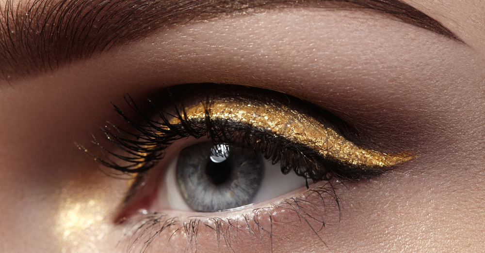 How to Create a Metallic Makeup Look with Gold Makeup