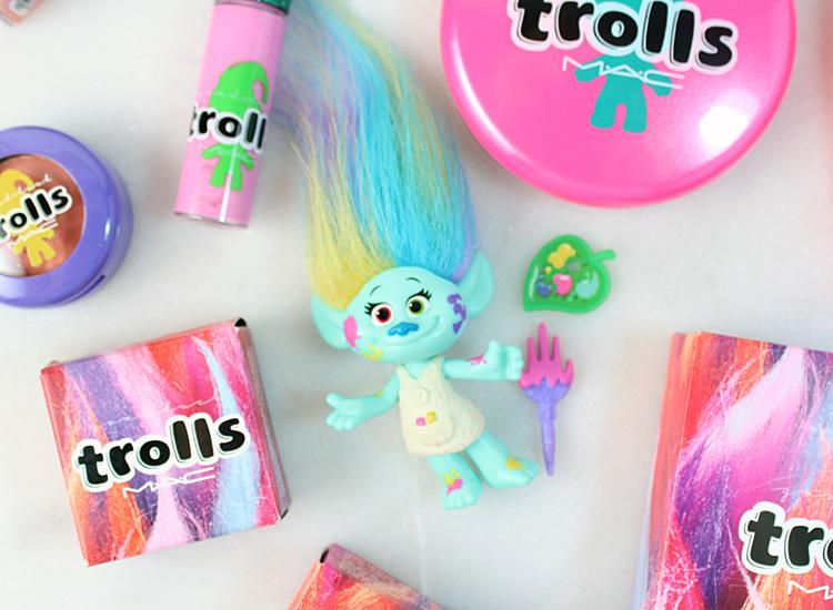 MAC Good Luck Trolls Collection