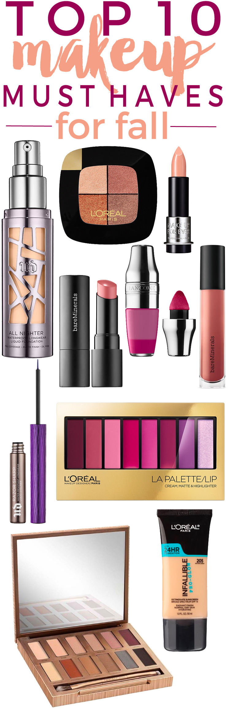 10 NEW Makeup Must-Haves for Fall. — Beautiful Makeup Search