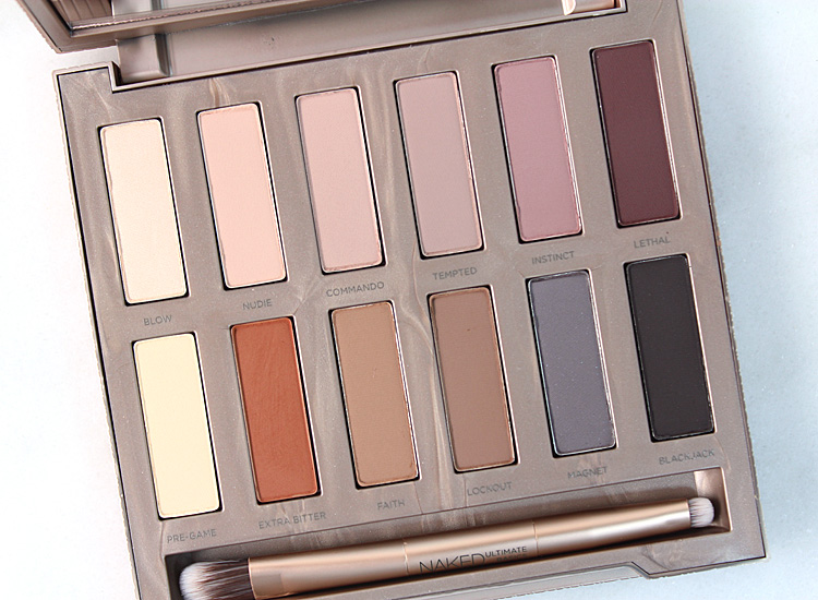 Préférence Urban Decay NAKED Ultimate Basics Palette: Review + 10 Tutorials  YB98