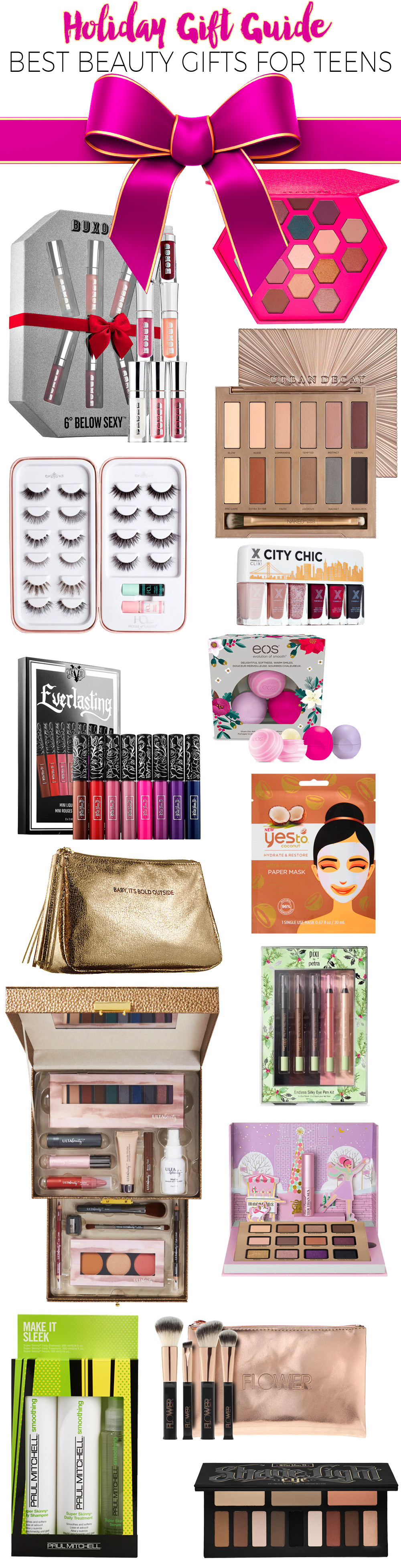 Holiday Gift Guide 2016: Best Beauty Gifts for Teens