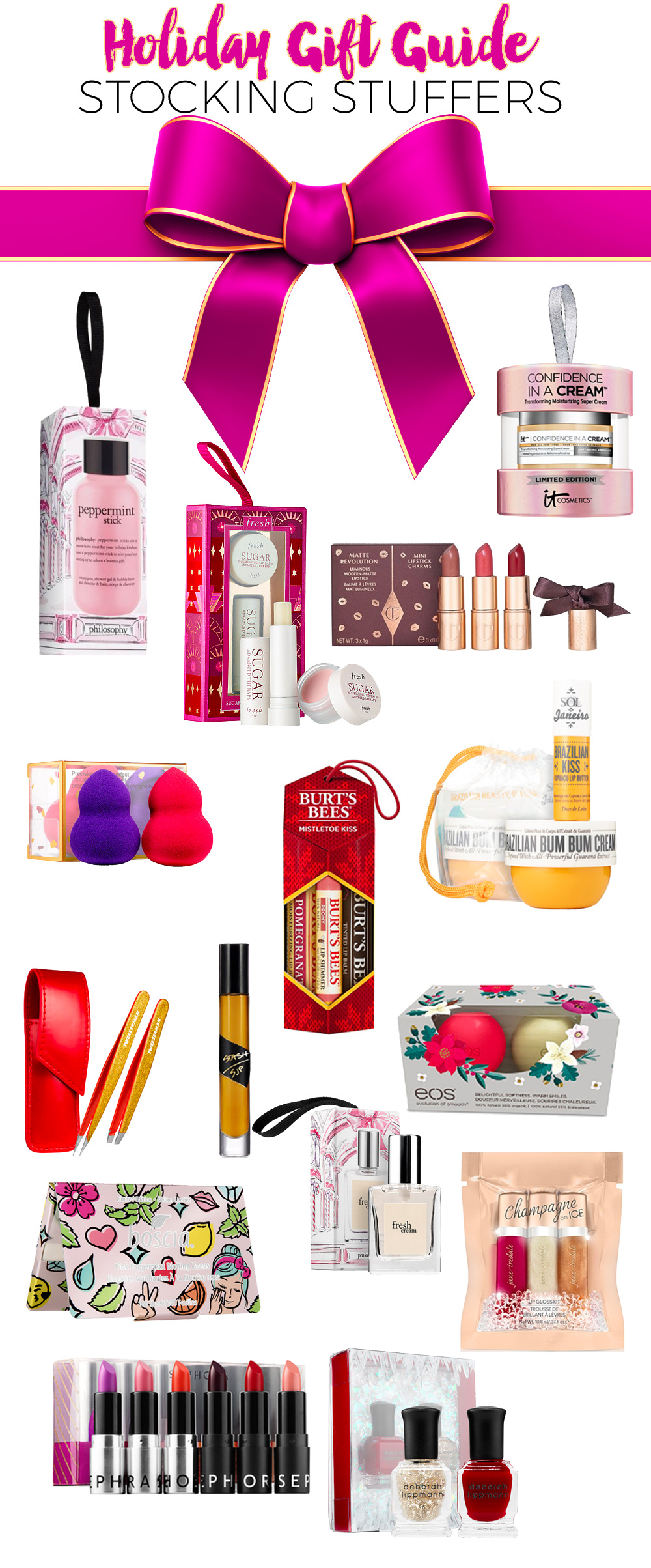 Holiday Gift Guide 2016: Stocking Stuffers