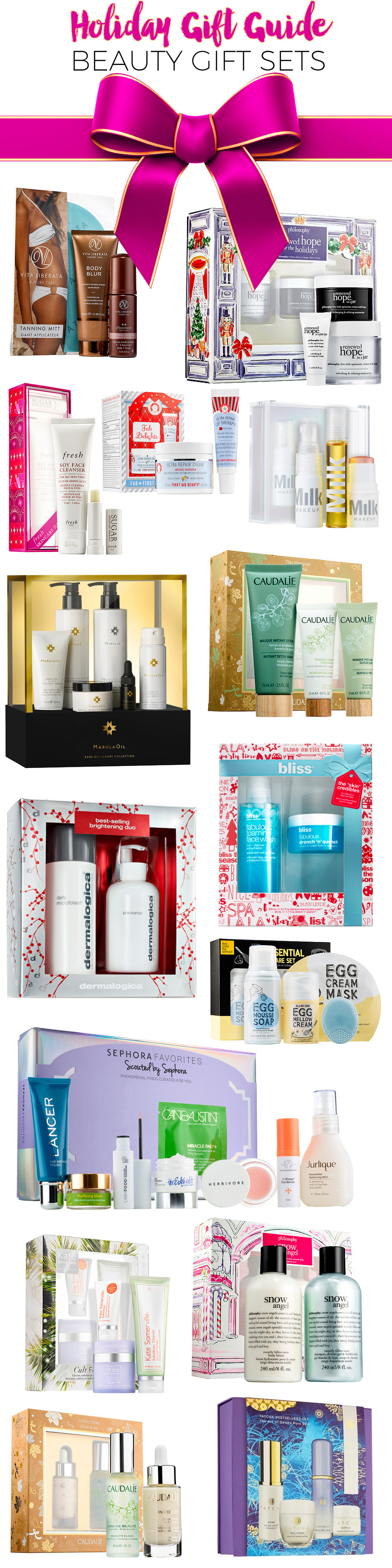 Holiday Gift Guide 2016: Best Beauty Gift Sets