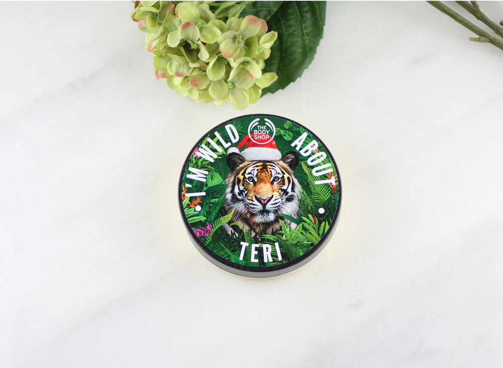 The Body Shop Personalized Body Butter